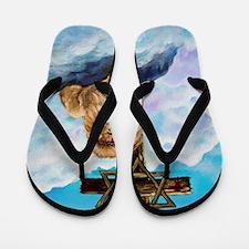 Messianic Art Flip Flops