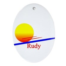 Rudy Oval Ornament