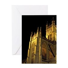 The Abbey Church of Saint Peter at n Greeting Card
