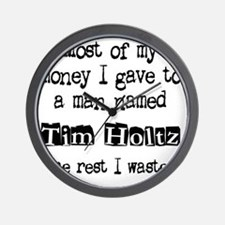timholtzwasted Wall Clock