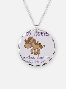 PonyArrive_Purple Necklace