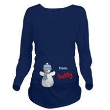 The Gift of Baby Long Sleeve Maternity T-Shirt