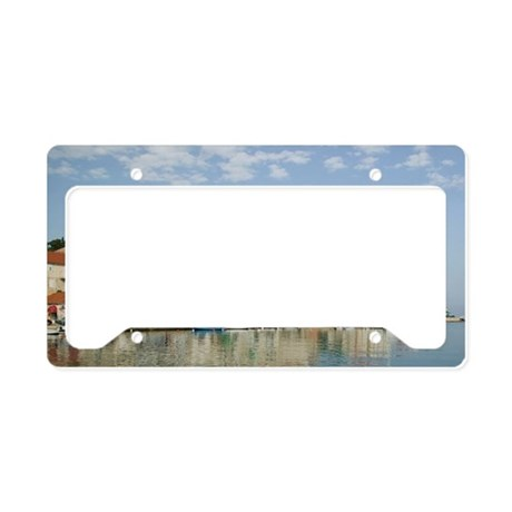 SUTIVAN. Town and Harbor View License Plate Holder