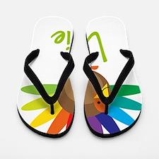 Lillie-the-turkey Flip Flops