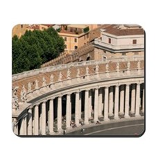 St Peter's square at the Vatican. Built  Mousepad