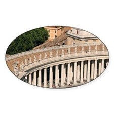 St Peter's square at the Vatican. B Decal
