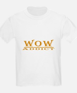 WoW Addict Kids T-Shirt