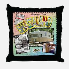 Shastaland Throw Pillow