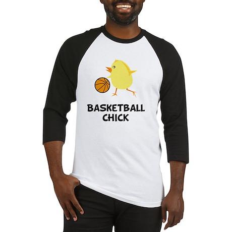 FBC Basketball Chick Black Baseball Jersey