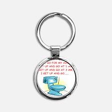 OLD2 Round Keychain