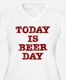 Beer Day (red) Plus Size T-Shirt