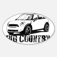 Big Country copy Sticker (Oval)