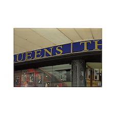 Queen's Theatre. Rectangle Magnet