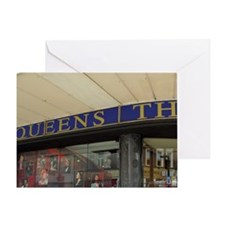 Queen's Theatre. Greeting Card