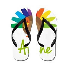 Arlene-the-turkey Flip Flops