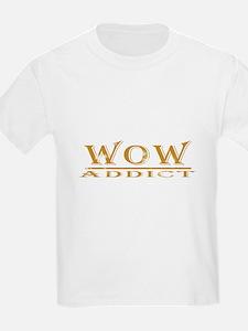 "WoW Addict ""Weathered"" Kids T-Shirt"