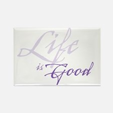 LifeIsGood Rectangle Magnet