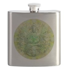 Quan Yin Green Flask