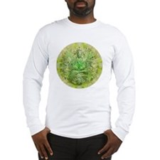 Quan Yin Green Long Sleeve T-Shirt