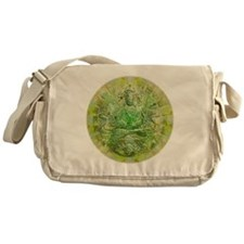Quan Yin Green Messenger Bag
