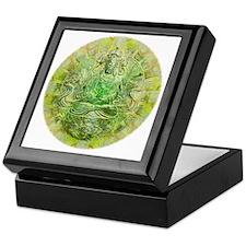 Quan Yin Green Keepsake Box