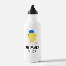 FBC Swimmer Chick Blac Water Bottle