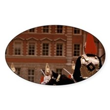 Changing of the horse guarditehall. Decal