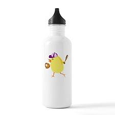 FBC Softball Chick Whi Water Bottle