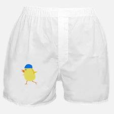 FBC Swimmer Chick White Boxer Shorts