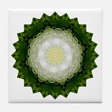 Moon Star Yoga Mandala Shirt Tile Coaster