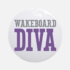 Wakeboard DIVA Ornament (Round)