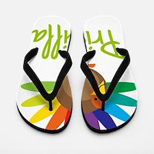 Priscilla-the-turkey Flip Flops