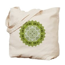 Green Man Yoga Mandala Shirt Tote Bag