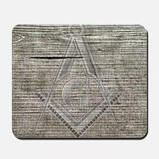 wood base plaque copy Mousepad