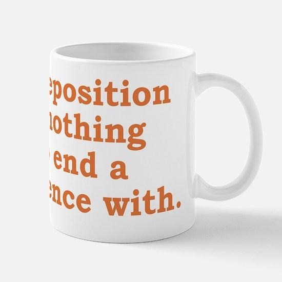 Preposition Mug