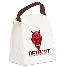 Detroit-10trans Canvas Lunch Bag