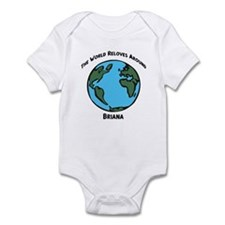 Revolves around Briana Infant Bodysuit