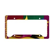 Scrapbooking License Plate Holder