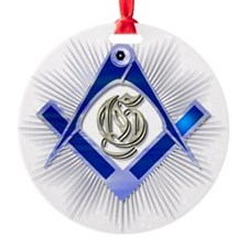 Masonic Blue Lodge Ornament