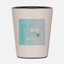 Joy Rising Aqua Sky Shot Glass