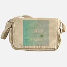 Joy Rising Aqua Sky Messenger Bag