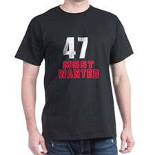 47 most wanted T-Shirt