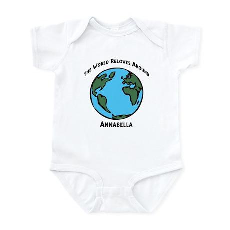 Revolves around Annabella Infant Bodysuit