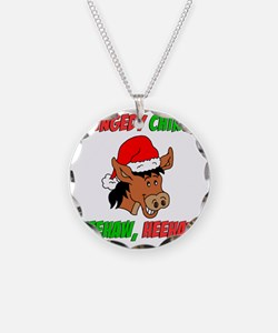 Italian Christmas Donkey Necklace