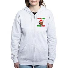 Italian Christmas Donkey Zip Hoodie