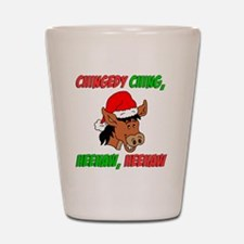 Italian Christmas Donkey Shot Glass