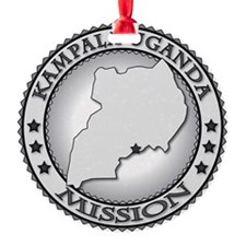 Kampala Uganda LDS Mission Ornament