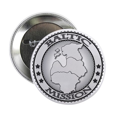 """Baltic LDS Mission 2.25"""" Button"""