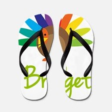 Bridget-the-turkey Flip Flops