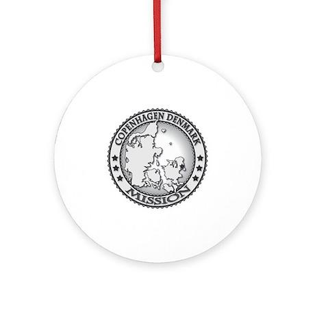Copenhagen Denmark LDS Mission Round Ornament